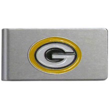 Green Bay Packers Brushed Money Clip