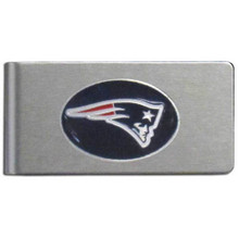 New England Patriots Brushed Money Clip