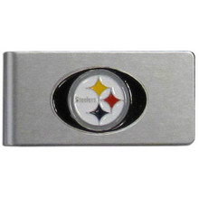 Pittsburgh Steelers Brushed Money Clip