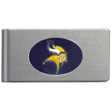 Minnesota Vikings Brushed Money Clip