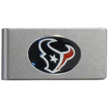 Houston Texans Brushed Money Clip