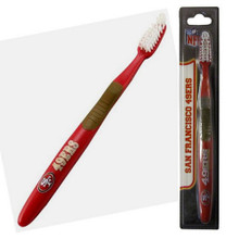 San Francisco 49ers Team Toothbrush FBR075