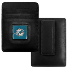 Miami Dolphins Card Holder Money Clip Wallet FCH060