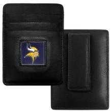 Minnesota Vikings Card Holder Money Clip Wallet FCH165