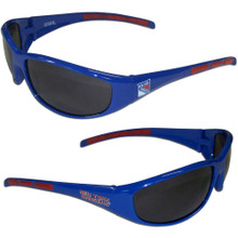 New York Rangers Wrap Sunglasses NHL Hockey 2HSG105