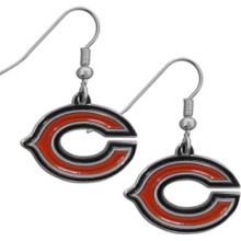 Chicago Bears Chrome Dangle Earrings FDE005N