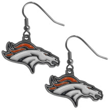 Denver Broncos Dangle Earrings FDE020