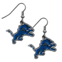 Detroit Lions Dangle Earrings FDE105