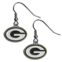 Green Bay Packers Dangle Earrings FDE115