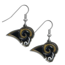 St. Louis Rams Chrome Dangle Earrings FDE130N