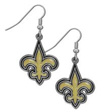 New Orleans Saints Dangle Earrings FDE150