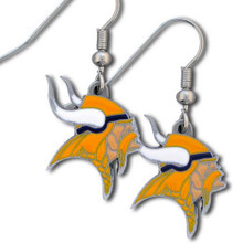 Minnesota Vikings Dangle Earrings FDE165