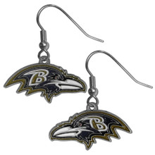 Baltimore Ravens Dangle Earrings FDE180