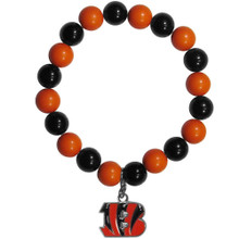 Cincinnati Bengals Fan Bead Bracelet NFL Football FFBB010