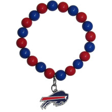 Buffalo Bills Fan Bead Bracelet NFL Football FFBB015