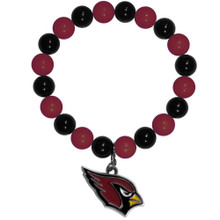 Arizona Cardinals Fan Bead Bracelet NFL Football FFBB035