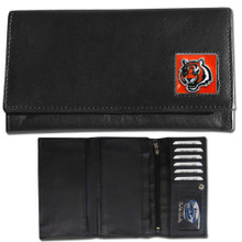 Cincinnati Bengals Black Women's Leather Wallet FFW010