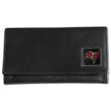 Tampa Bay Buccaneers Black Women's Leather Wallet FFW030