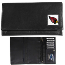 Arizona Cardinals Black Women's Leather Wallet FFW035