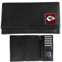 Kansas City Chiefs Black Women's Leather Wallet FFW045