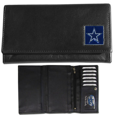Dallas Cowboys Black Women's Leather Wallet FFW055