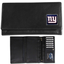 New York Giants Black Women's Leather Wallet FFW090