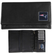 New England Patriots Black Women's Leather Wallet FFW120