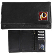 Washington Redskins Black Women's Leather Wallet FFW135