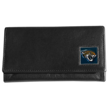 Jacksonville Jaguars Black Women's Leather Wallet FFW175
