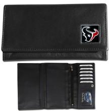 Houston Texans Black Women's Leather Wallet FFW190