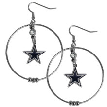 Dallas Cowboys Hoop Earrings FHE055