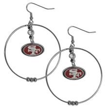San Francisco 49ers Hoop Earrings FHE075