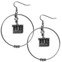 New York Giants Hoop Earrings FHE090