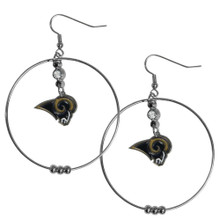 St. Louis Rams Hoop Earrings FHE130