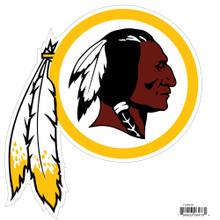 "Washington Redskins 8"" Car Magnet NFL Football FLAM135"