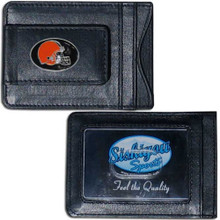 Cleveland Browns Cash & Cardholder Wallet NFL Football FLMC025