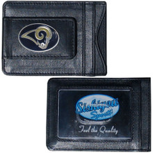 St. Louis Rams Cash & Cardholder Wallet NFL Football FLMC130