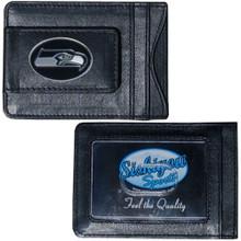 Seattle Seahawks Cash & Cardholder Wallet NFL Football FLMC155