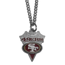 San Francisco 49ers Pendant Necklace NFL Football FPC075