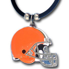 Cleveland Browns Logo Pendant Necklace NFL Football FPR025