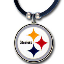 Pittsburgh Steelers Logo Pendant Necklace NFL Football FPR160
