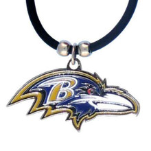 Baltimore Ravens Logo Pendant Necklace NFL Football FPR180