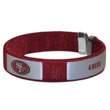 San Francisco 49ers Fan Bracelet NFL Football FRB075