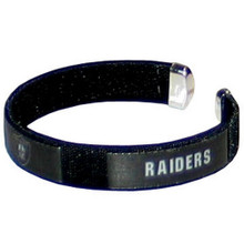Oakland Raiders Fan Bracelet NFL Football FRB125