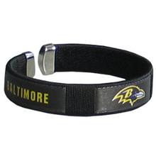 Baltimore Ravens Fan Bracelet NFL Football FRB180