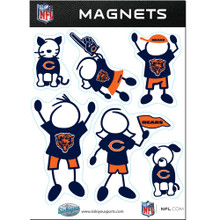 Chicago Bears Family Magnets NFL Football FRMF005