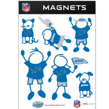 Detroit Lions Family Magnets NFL Football FRMF105