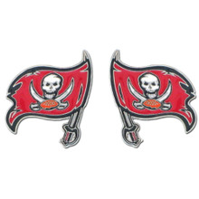 Tampa Bay Buccaneers Studded Earrings NFL Football FSE030
