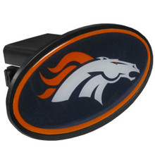 Denver Broncos Plastic Hitch Cover NFL Football FTHP020