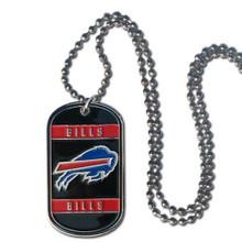 Buffalo Bills Dog Tag Necklace NFL Football FTN015